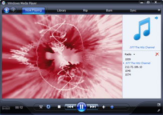 By playing one of the ultra sonic tones in Windows Media Player you should see one of the Visualizations appear to show that there really is sound coming from the file.